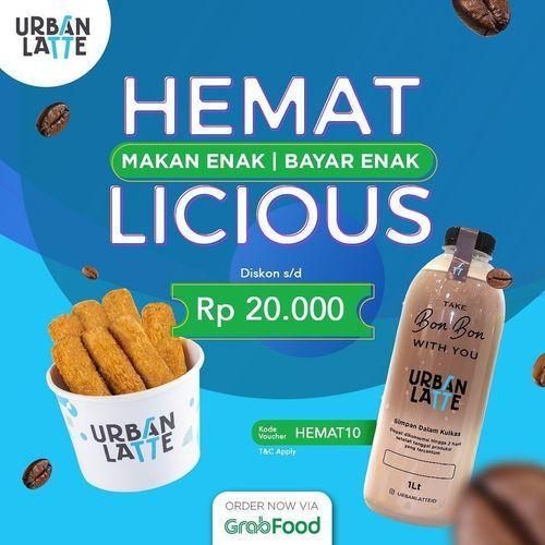 Urban Latte Hemat Licious Rp. 20.000 (27828447) di Kota Jakarta Selatan