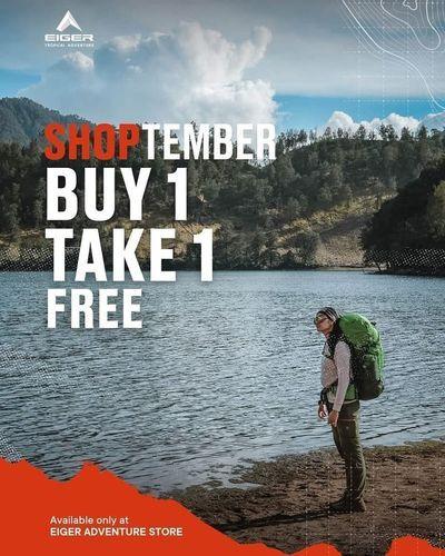 Eiger Gandaria City Shoptember Buy 1 Take 1 Free (27828467) di Kota Jakarta Selatan