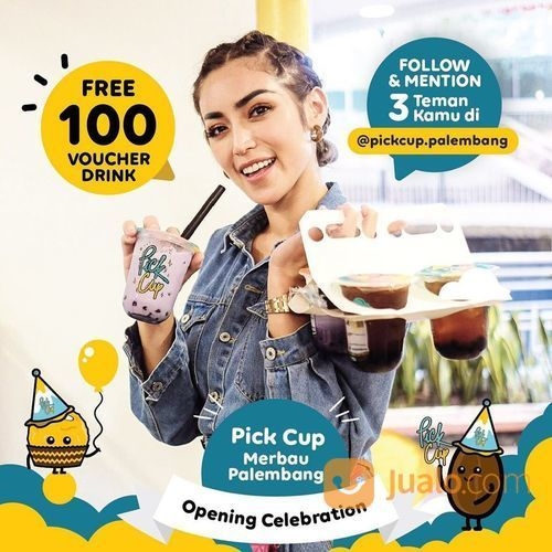 PICKCUP PALEMBANG FREE 100 VOUCHER GIVEAWAY* (27838171) di Kota Jakarta Selatan