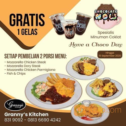 GRANNYS KITCHEN PROMO GRATIS 1 GELAS* (27838187) di Kota Jakarta Selatan