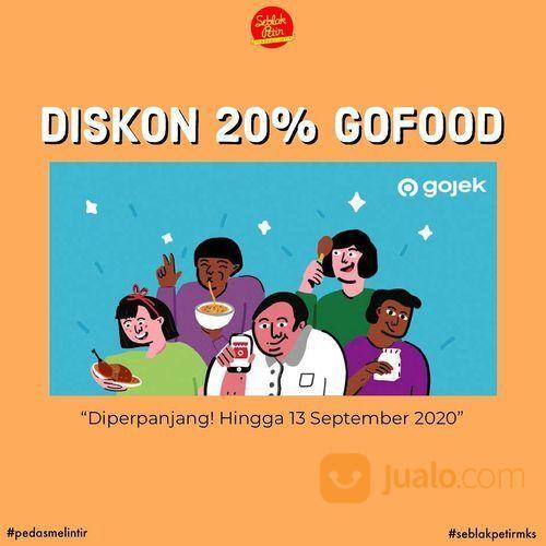promo seblak petir makassar diskon 20% di gofood (27845983) di Kota Jakarta Selatan