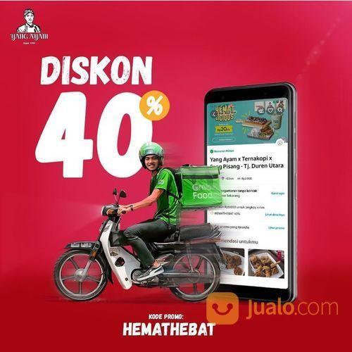 YANGAYAM DISKON 40% DI GRABFOOD (27846131) di Kota Jakarta Selatan