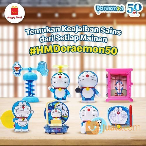 MCDONALDS #HMDoraemon50 Koleksi Doraemon untuk si Kecil (27851511) di Kota Jakarta Selatan