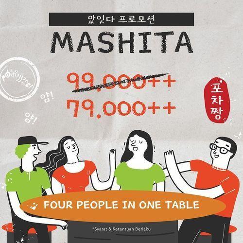 POCHAJJANG Korean BBQ PROMO MASHITA (27856267) di Kota Jakarta Selatan