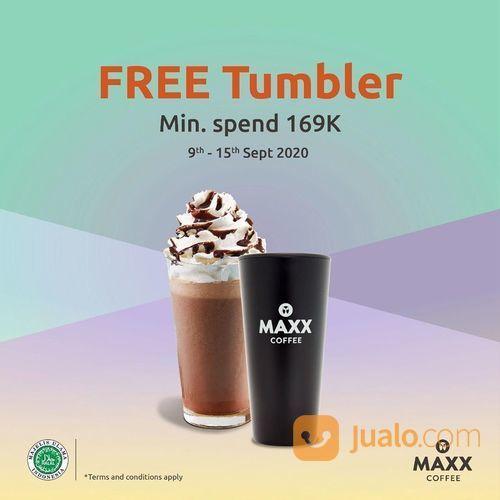 MAXX COFFEE PROMO FREE Tumbler Min. spend 169k (27869135) di Kota Jakarta Selatan