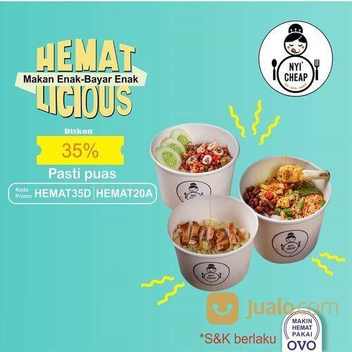 NYI CHEAP Diskon 5rb tanpa syarat minimal. Dengan kode promo HEMATONGKIR2 (27869715) di Kota Jakarta Selatan