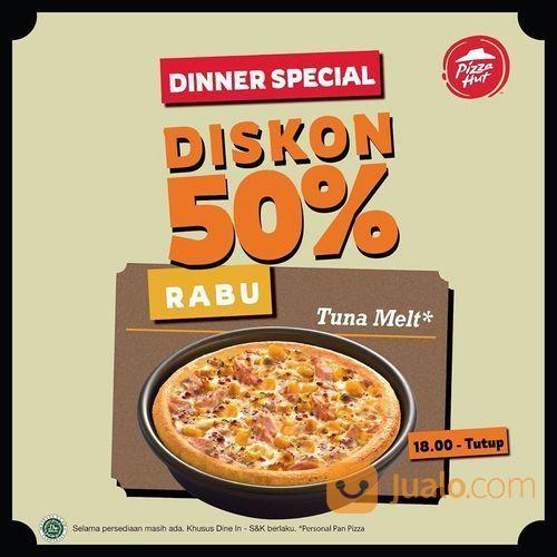 PIZZAHUT DISKON 50% DINNER SPECIAL RABU (27870063) di Kota Jakarta Selatan