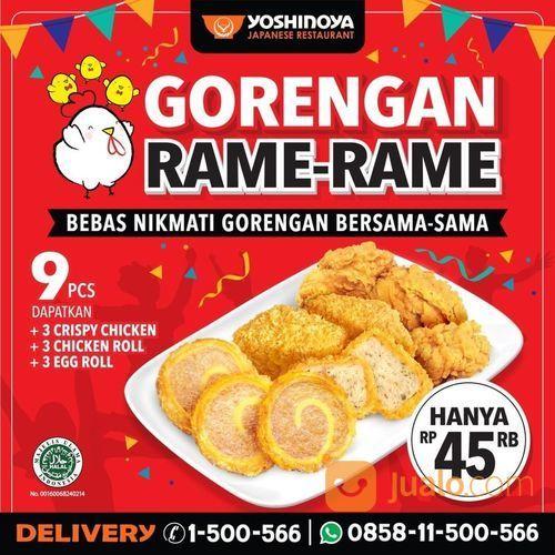 YOSHINOYA PROMO GORENGAN RAME-RAME (27870371) di Kota Jakarta Selatan