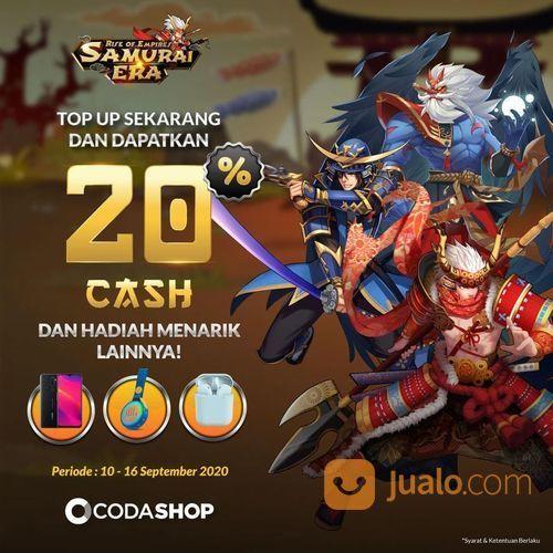 CODASHOP BONUS 20% Cash dan hadiah menarik lainnya (27870863) di Kota Jakarta Selatan