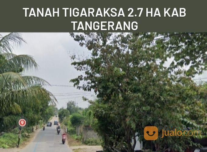 Tanah Tigaraksa 2.7 Ha Dekat Takara Golf Dan Stasiun Kab Tangerang (27873223) di Kab. Tangerang