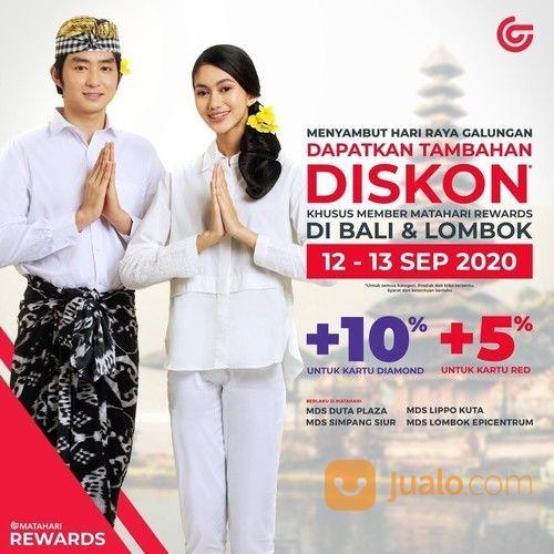 MATAHARI DISKON KHUSUS BALI DAN LOMBOK DI WEEKEND INI (27876687) di Kota Denpasar
