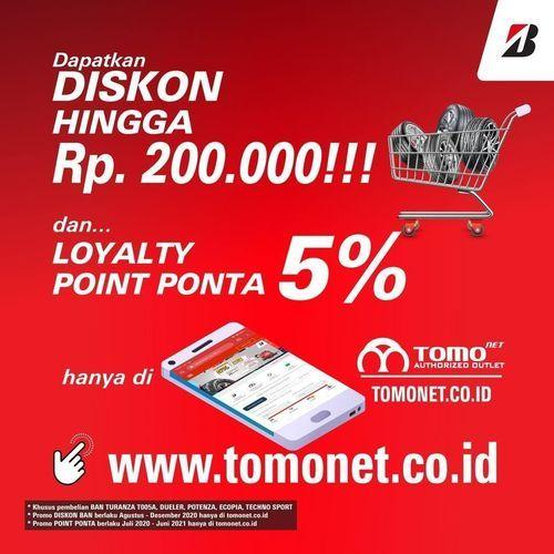 Bridgestone Diskon Hingga Rp. 200.000 (27880675) di Kota Jakarta Selatan