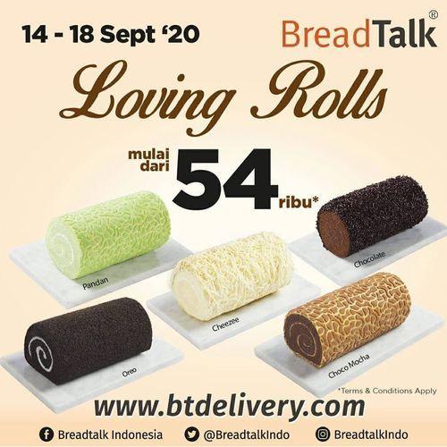 BreadTalk Indonesia Loving Rolls Mulai Dari 54 Ribu (27883435) di Kota Jakarta Selatan
