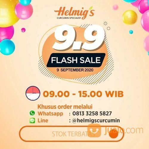 HELMIG'S COMPANY CURCUMIN 9.9 FLASH SALE (27898515) di Kota Jakarta Selatan
