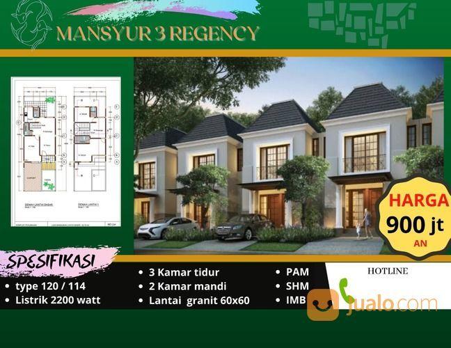 Nyesal Gak Beli ..!!! Rumah Murah Dr Mansyur (27907415) di Kota Medan