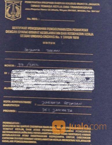 Kepengurusan Surat Izin Layak Operasi Silo Alat Bejana Tekan (27921659) di Kota Bekasi