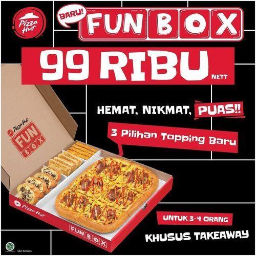 Pizza Hut Fun Box 99 Ribu (27929295) di Kota Jakarta Selatan