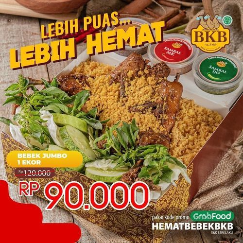 Bebek BKB Lebih Puas Lebih Hemat (27929323) di Kota Jakarta Selatan