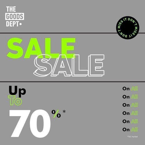 The Goods Dept WEEKEND BLAST UP TO 70% (27942911) di Kota Jakarta Selatan