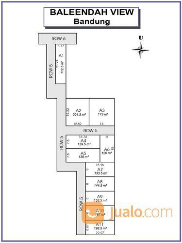 Tanah Baleendah View Bandung, SHM Pecah Unit: Potongan 25% (27945415) di Kota Bandung