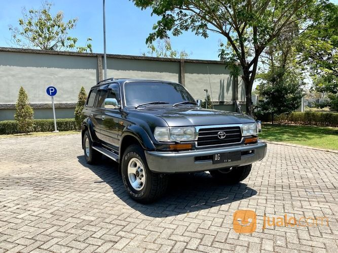 LAND CRUISER VX80 Turbo M/T 1997 Dark Grey Tangan Ke 1 Perfect Condition (27967295) di Kota Surabaya