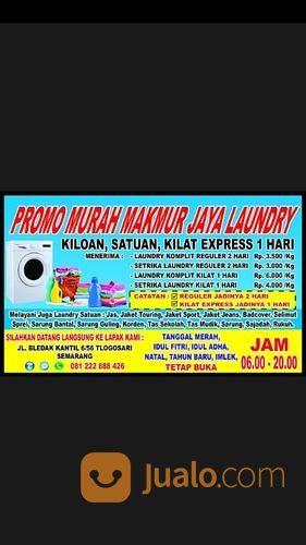 Promoo Murah Laundry Makmur Jaya Tlogosari Jl.Bledak Kantil 6/56 Tlogosari Belakang Mi Ayam Pak Joko (27994699) di Kota Semarang