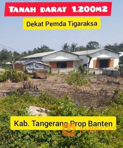 Tanah Tigaraksa 1.200m2 Untuk Gudang Workshop Kab Tangerang Banten (28020931) di Kab. Tangerang