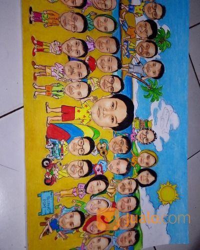 Sketsa Wajah Dan Karikatur Wajah Handmade (28025987) di Kab. Tangerang