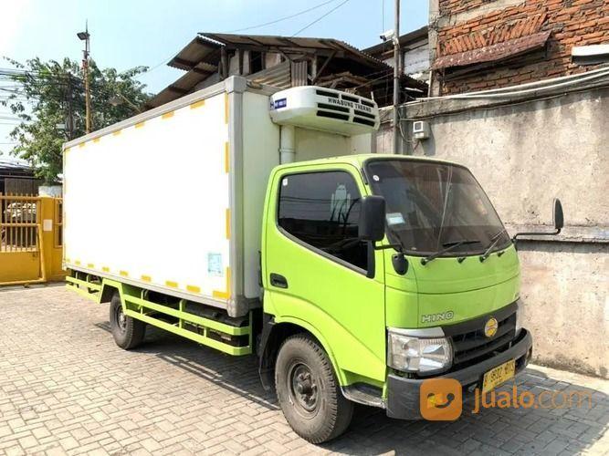 Box4.7mtr+BanBARU,MURAH 110SDL Hino Dutro Engkel LONG Box Freezer 2018 (28028795) di Kota Jakarta Utara