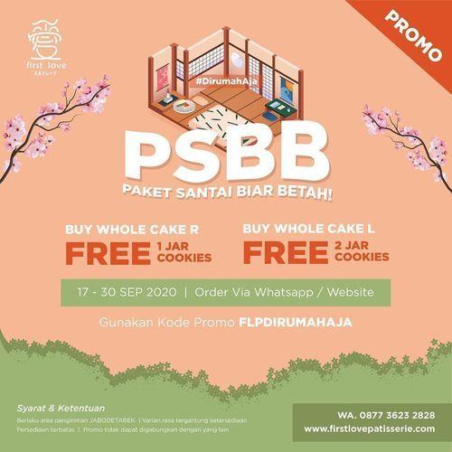 First Love Patisserie PSBB Promo (28041867) di Kota Jakarta Selatan