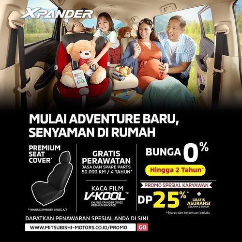 Mitsubishi Xpander Promo Bunga 0% (28041967) di Kota Jakarta Selatan
