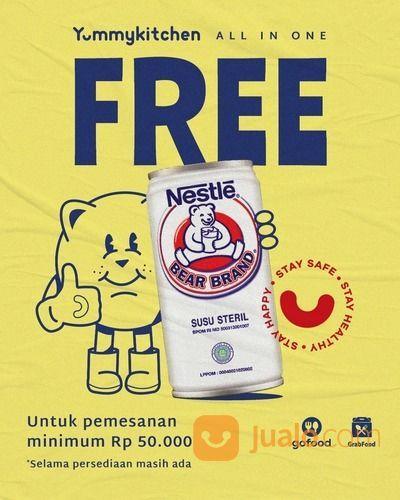YUMMY KITCHEN FREE BEARBRAND MIN. PEMBELIAN 50K (28072903) di Kota Jakarta Selatan