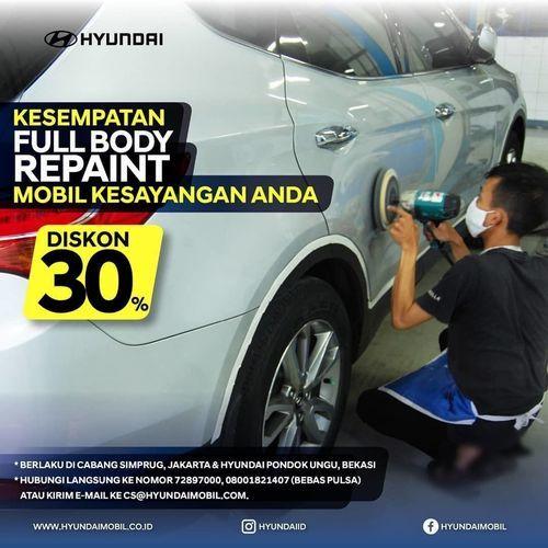 Hyundai ID 30% Off Full Body Paint (28081411) di Kota Jakarta Selatan