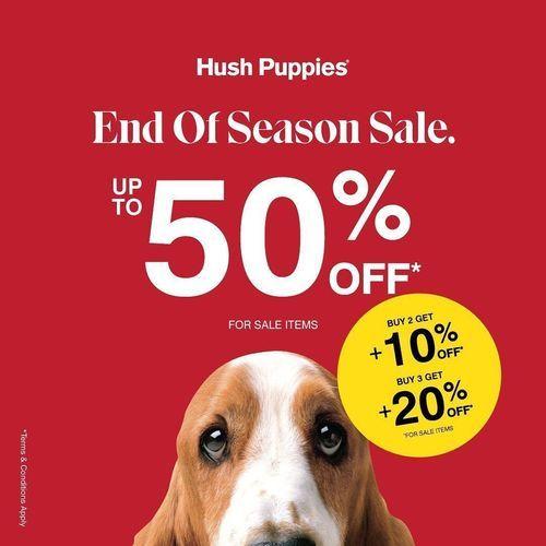 Hush Puppies End Of Season Sale Up To 50% (28081431) di Kota Jakarta Selatan