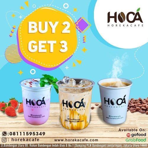 Horeka Cafe Buy 2 Get 3 (28081567) di Kota Jakarta Utara