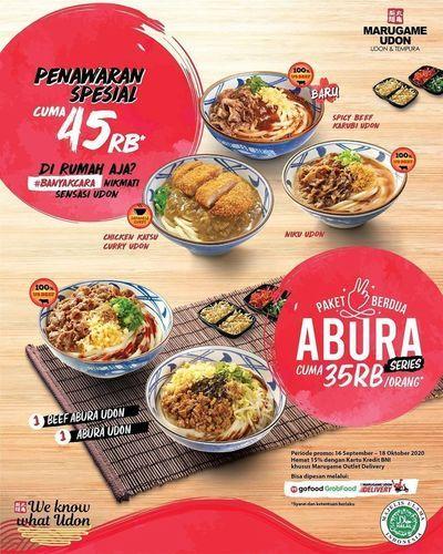 Marugame Udon Abura Series Rp35K Promo (28081639) di Kota Jakarta Selatan