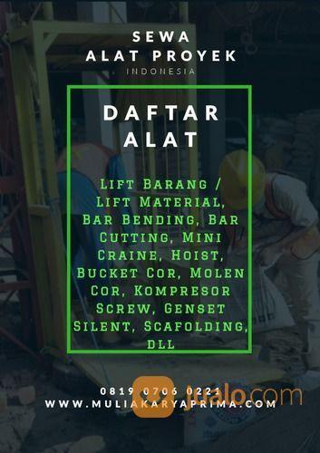 Sewa Alat Proyek Kalimantan Barat (28103459) di Kota Pontianak