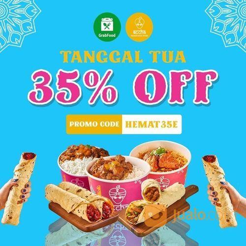 Accha 35% Discount via GRABFOOD (28107211) di Kota Jakarta Selatan