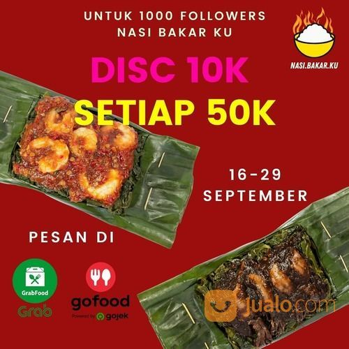 PROMO 10.000 SETIAP PEMBELIAN 50.000 di GRABFOOD/GOFOOD (28107291) di Kota Jakarta Selatan