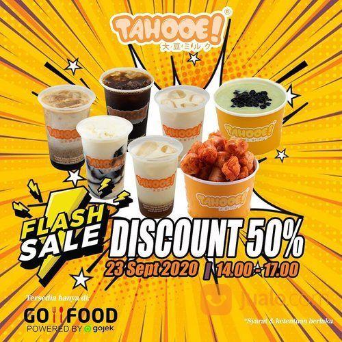 Tahooe FLASH SALE!! Discount 50% GoFood (28107583) di Kota Jakarta Selatan