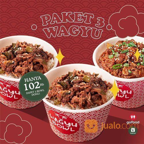 WAGYU BOWL PAKET 3 WAGYU LEBIH HEMAT 102K ONLY (28108247) di Kota Jakarta Selatan