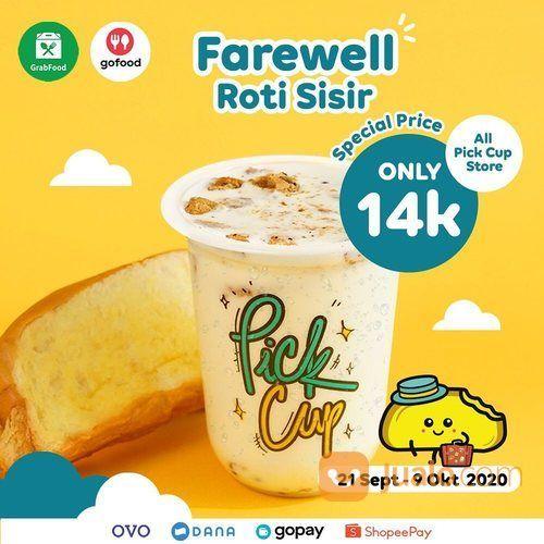 PickCup Farewell Menu Roti Sisir only 14k (28108467) di Kota Jakarta Selatan