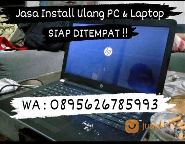 Jasa Install Ulang Laptop & Komputer Panggilan (28116603) di Kota Medan