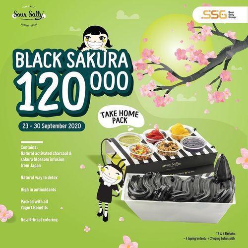 Sour Sally Promo Black Sakura Rp.120.000 (28119691) di Kota Jakarta Selatan