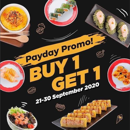Genki Sushi Payday Promo Buy 1 Get 1 (28119711) di Kota Jakarta Selatan