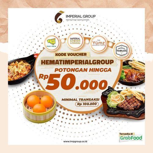 Imperial kitchen Grabfood Disc. 40% Off (28119767) di Kota Jakarta Selatan
