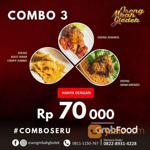 OSENG MBAH GLEDEK PROMO 70 Ribu rupiah aja Kamu bisa nikmatin 3 jenis menu yang mantap banget (28131143) di Kota Jakarta Selatan