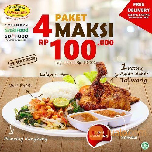 AYAM TALIWANG SUMAGUNG PAKET MAKSI RP 100.000 (28133443) di Kota Jakarta Selatan