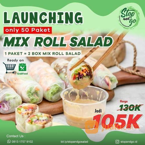 STOPANDGO Promo Special Launching mix Roll Salad (28135323) di Kota Jakarta Selatan