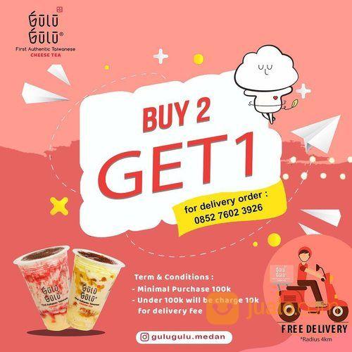 GULU GULU MEDAN BUY 2 GET 1 khusus untuk pemesanan melalui Delivery order (28135363) di Kota Jakarta Selatan